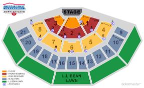 Summerfest 2018 Seating Chart Tickets Maroon 5 Milwaukee Wi At Ticketmaster