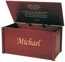 personalized memory box engraved graduation memory chest personalised wooden keepsake memory box