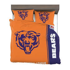 bears bedding comforter set 4 2 chicago queen size