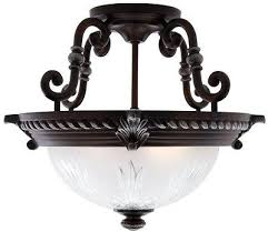 elegant glass hampton bay bercello estates 2 light fixture volterra bronze