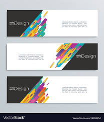 Desain Banner Web Banner For Your Design Header Template