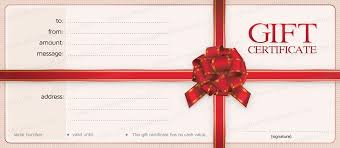 Gift Certificates For Your Business Donate Gift Certificates And Promote Your Business During Wfits
