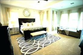 how to put a rug under a bed area rug placement rug placement under bed placing