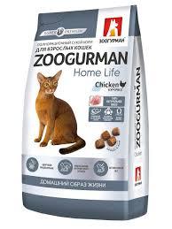 20% <b>Зоогурман</b> Полнорационный <b>сухой корм</b> д/кошек Home Life ...
