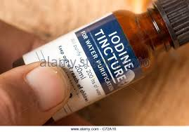 what is tincture of iodine class 9