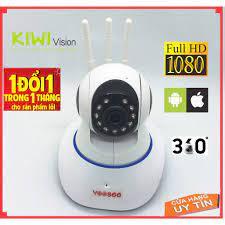 Camera Wifi IP Yoosee 3 râu 2.0 đàm thoại hai chiều giám sát ngày đêm trong  nhà