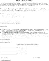 Professional Services Contract Template Canada Export Document ...