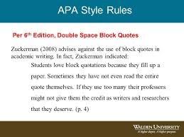 Block Quotes Apa Amazing Introduction To 48th Edition APA Citations And References Ppt