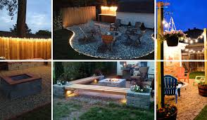 outdoor lighting ideas diy. Delighful Lighting 15 DIY Backyard And Patio Lighting Projects And Outdoor Ideas Diy N