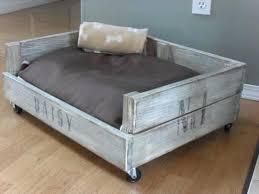wooden dog bed frame wooden pallet dog bed diy wooden dog bed frame