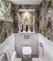 9 Bathroom Wallpaper Ideas: Cover Walls ...