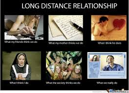 Distance Relationships Memes. Best Collection of Funny Distance ... via Relatably.com