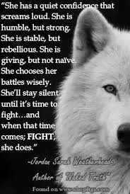 quiet confidence that screams loud. She is humble ...
