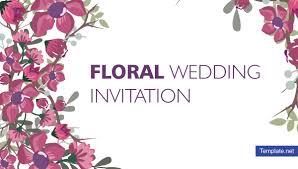 15 Floral Wedding Invitation Designs Templates Psd Ai