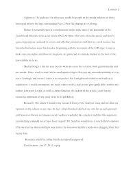 93 Ap Lang Rhetorical Analysis Essay Example Example Of