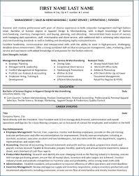 Visual Merchandising Resume Igniteresumes Com