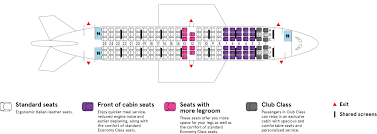 Air Transat 737 800 Seating Chart Boeing 737 700 Air Transat