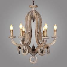 antique lighting wooden candle chandelier crystal pendant lamp with ul ce c6009 5l