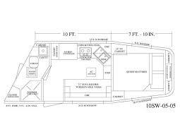 horse trailer floor plans