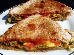 veggie omelet sandwich madhura s recipe