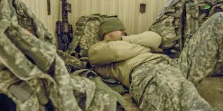 for some service members insomnia not be part of ptsd