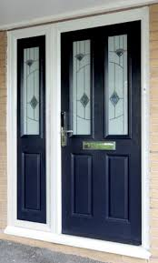 front doors with side panelsComposite Side Panels on Front Doors with Glass in the UK