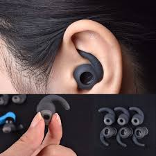 details about s m l 3 pairs silicone earbuds cover with ear hook for jbl bluetooth headset new