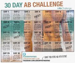 30 day ab challenge men google search
