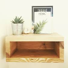 Solid wood, custom nightstand or bedside table