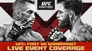 UFC Fight Night: Font vs. Garbrandt ...