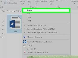 4 Ways To Remove The Read Only Status On Ms Word Documents
