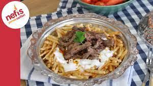 Çökertme Kebabı Tarifi - Bodrum Kebabı Nasıl Yapılır? - YouTube