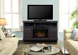 solomon electric fireplace media console w logs in weathered grey gds25ld 1594wg