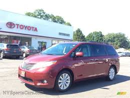 2012 Toyota Sienna Limited AWD in Salsa Red Pearl - 047525 ...