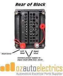 bussmann 10 circuit minifuse and 5 circuit relay block kit bussmann 10 circuit minifuse and 5 circuit relay block rear