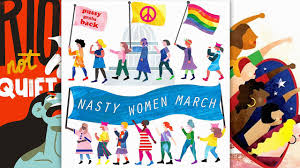 Relive The Glory Of The Women s March With These Awesome Illustrations