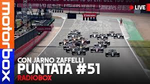 CALENDARIO F1 2021: RITORNO AL... FUTURO?   RadioBox 51 con Jarno Zaffelli  - YouTube