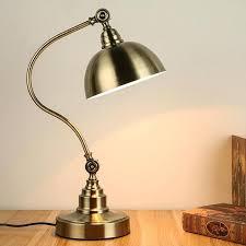 antique desk lamps table light study dressing retro antique bronze desk lamp bedroom bedside lamps study