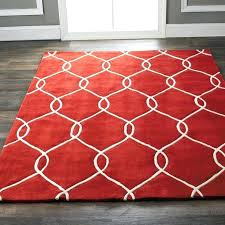 red and cream area rugs solid red area rug red rugs for living room living