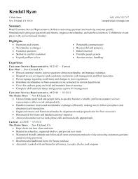 Example Resume Retail – Andaleco