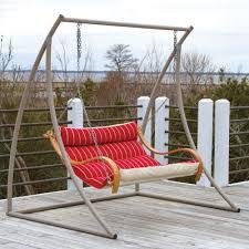hatteras hammocks extra wide metal swing stand