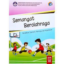 Soal ini bisa digunakan sebagai bahan latihan dalam menghadapi ujian akhir semester 1 mata pelajaran pjok (penjasorkes) untuk kelas 10 sma/ma. Buku Semangat Berolahraga Pjok Penjasorkes Kelas 6 Sd Kurikulum 2013 Kemendikbud Shopee Indonesia