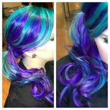 Purple Hair Style purple to green ombre hairstyle hair colors ideas 4251 by wearticles.com