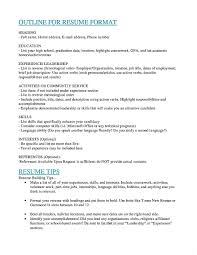 Listing Education Resume List Degree Template Delux Screnshoots