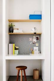 compact home office office. Study-nook-home-tour-renovation-joseph-gardner-Prue-. Desk NookOffice Compact Home Office
