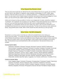 Resume Skill Words Inspiration 324 Resume Skill Words From Download Awesome Key Words For Resume Free