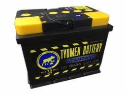 <b>Аккумулятор легковой Tyumen Battery</b> Standard 60 а/ч 550А ...