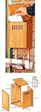wooden mailbox designs. Wooden Mailbox Cover Plans Woodworking And Projects Wood Covers Designs S