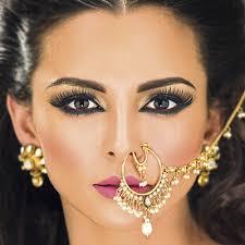 indian bridal makeup stani