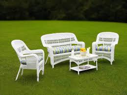 Furniture White Wicker Patio Furniture Clearance Sets Resin 100